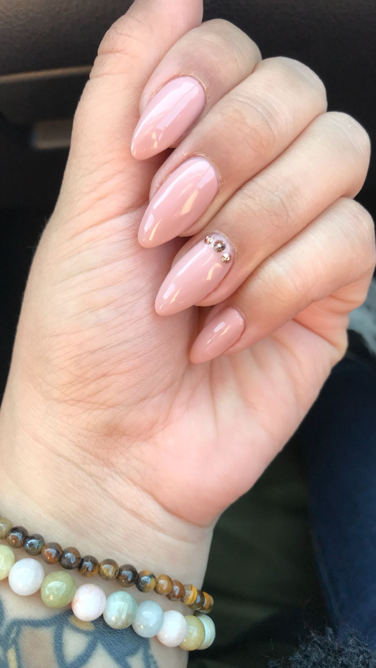 Almond Nails Neutral Nails Opi Color Tiramisu For Two