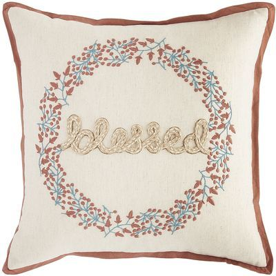 Blessed Pillow Pier 40 Imports Throw Pillows Pinterest Magnificent Pier One Imports Decorative Pillows