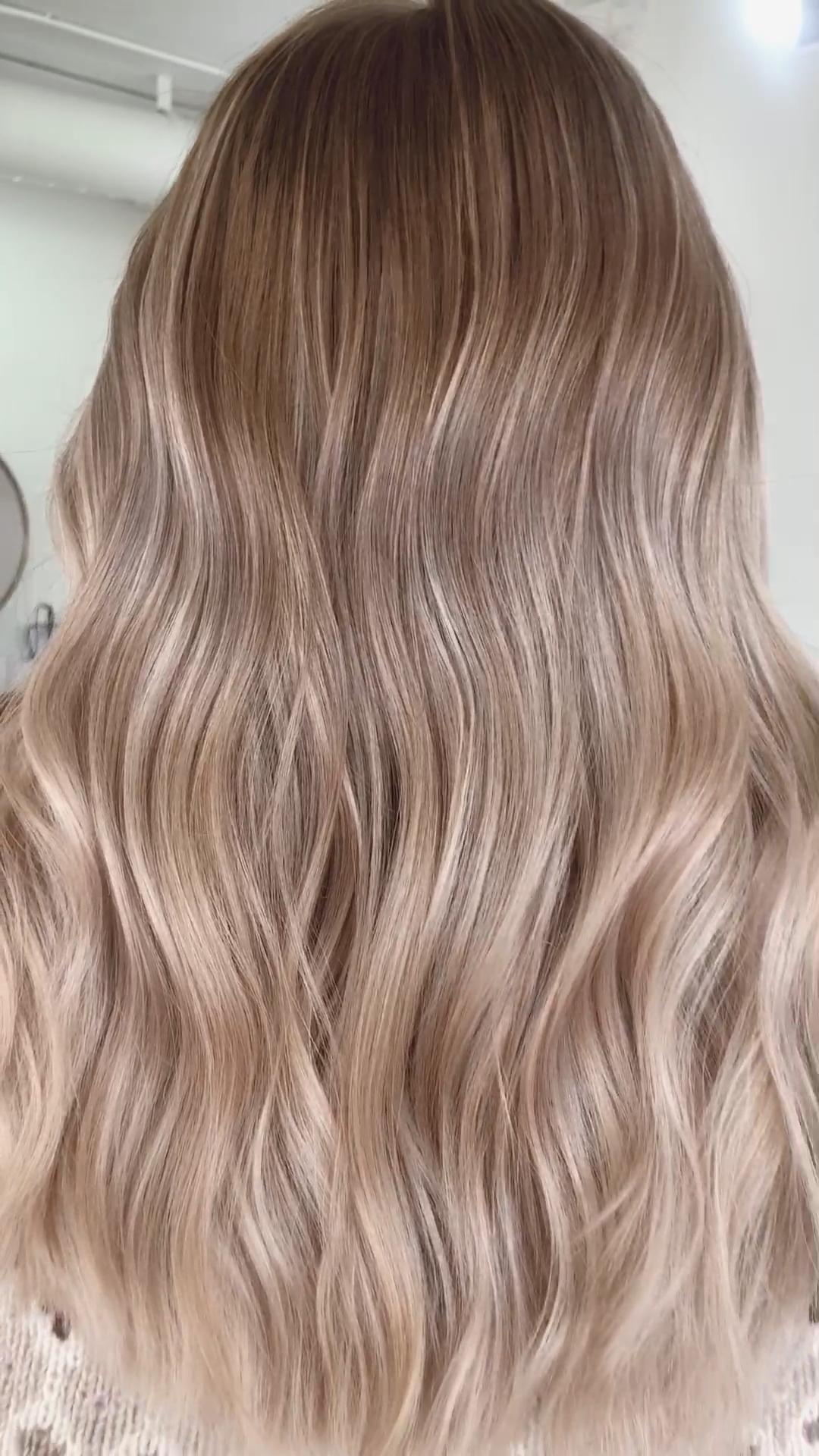 Photo of creamy blonde