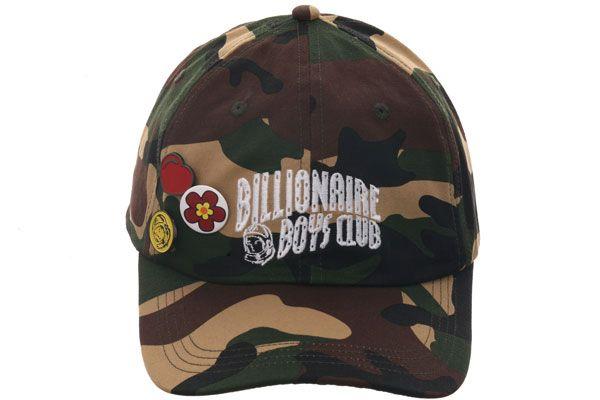 Billionaire Boys Club World Adjustable Hat Camouflage Hats Hats For Men Headwear Fashion