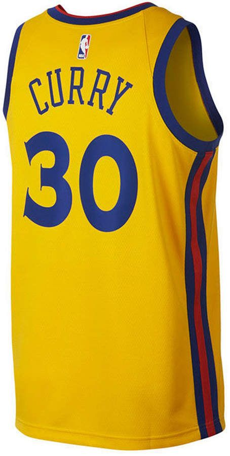 Nike Stephen Curry Golden State Warriors City Edition Swingman Jersey ba4d20f79