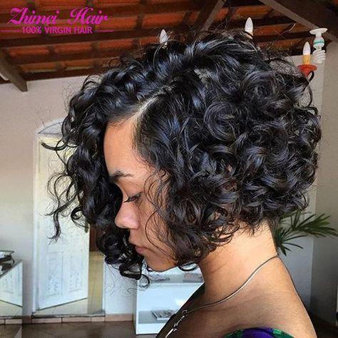 Brazilian Virgin Hair Curly Weave Human Hair 3 Bundle Deals Cheap