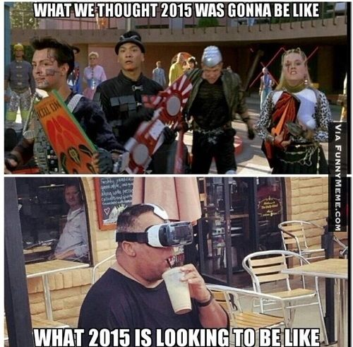 Funny memes Back to the future is not what we expected in ...