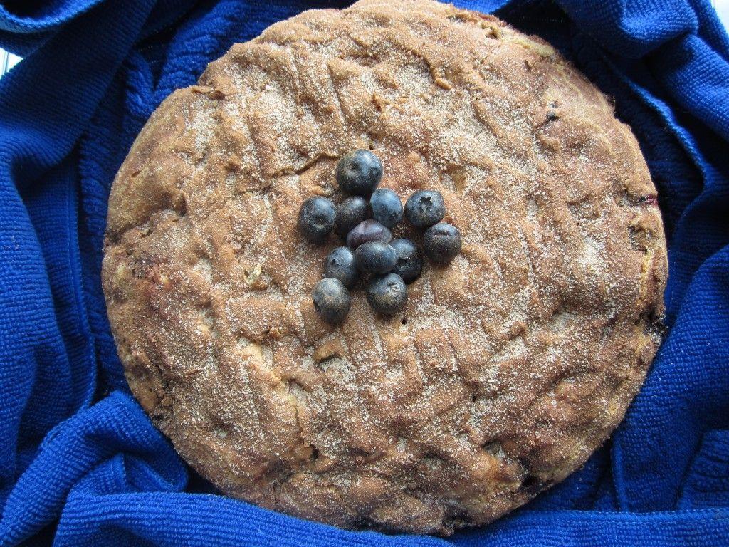 Blueberry Brunch Cake!  Honestly, the moistest, easiest, tastiest cake to bake!!!