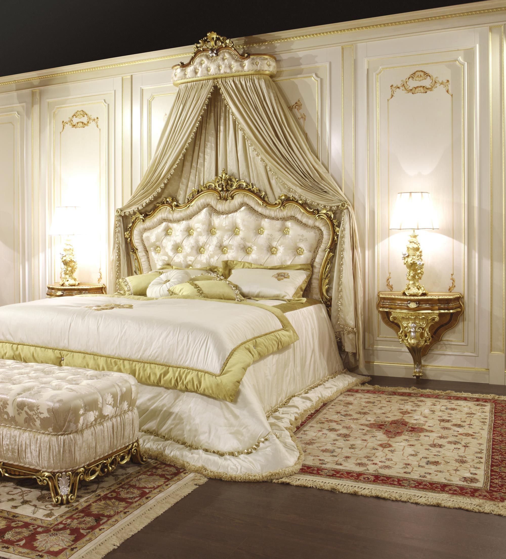 Classic Bed Bedroom Barocco Classic Bedroom Luxurious Bedrooms