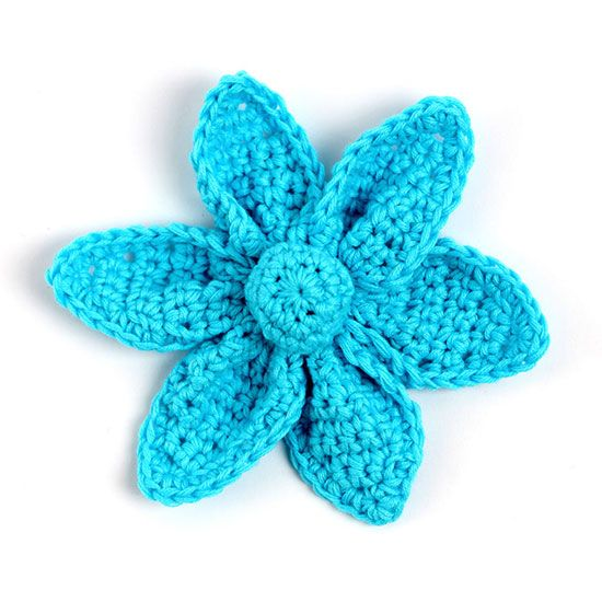 Free crochet Origami flower pattern, with step-by-step ...