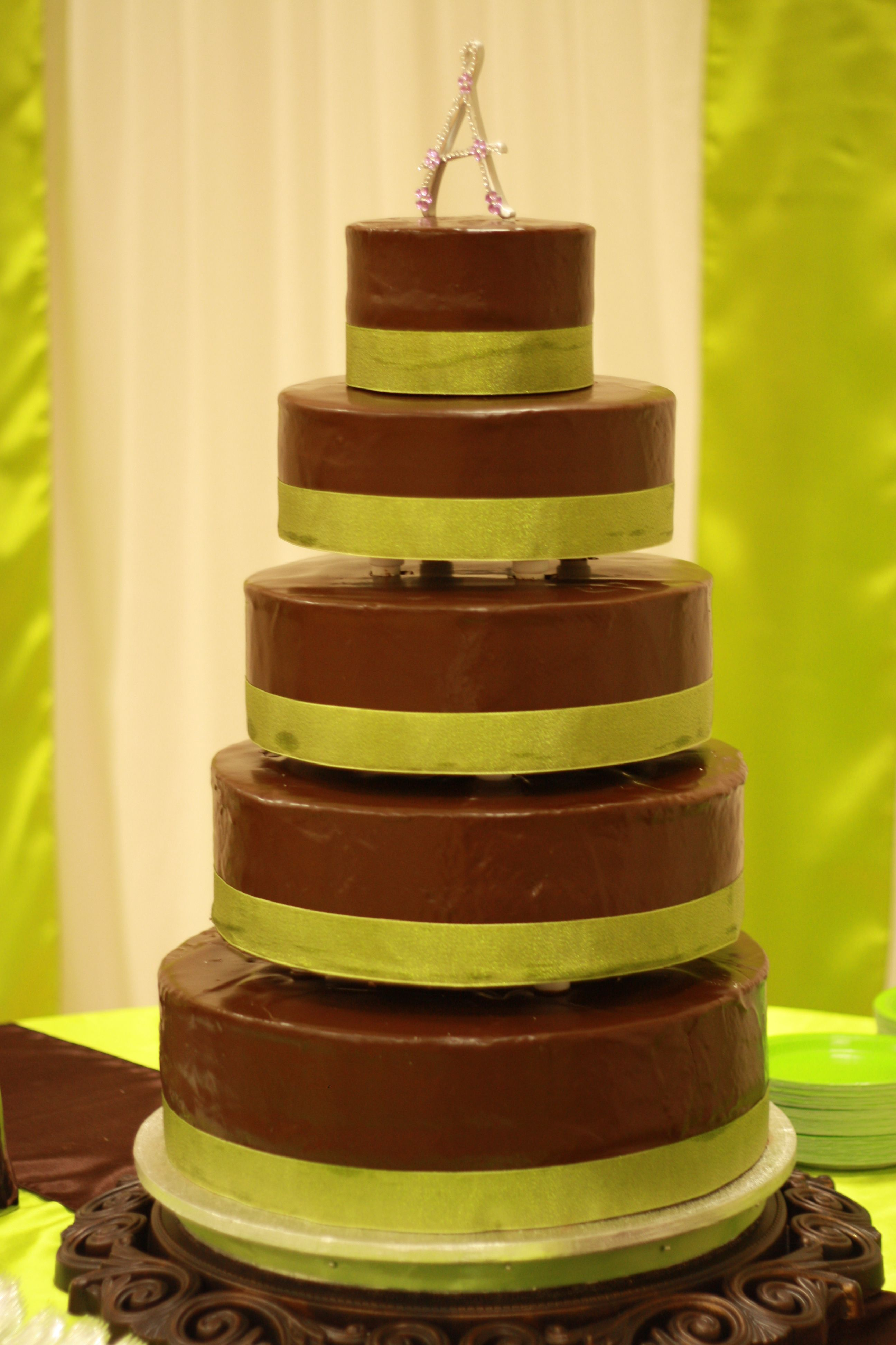 I loved my cake! It was perfect! No fondant, just a chocolate cover ...