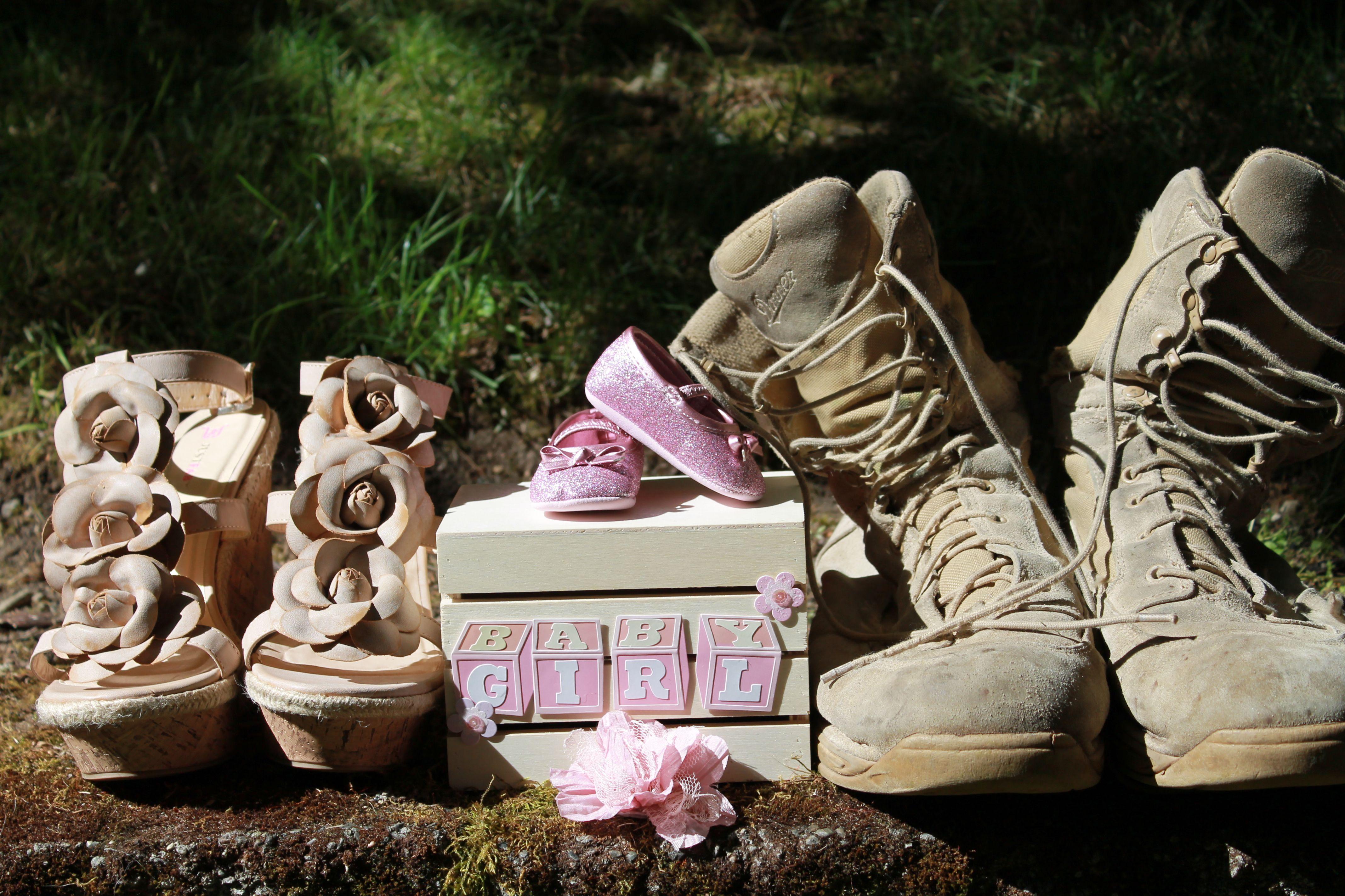 Military baby gender reveal Baby Pinterest