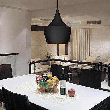 Lampe Suspensions Traditionnel Classique Rustique Vintage Retro Plaque Fonctionnalite For Style Mini Metal Salle De Sejour