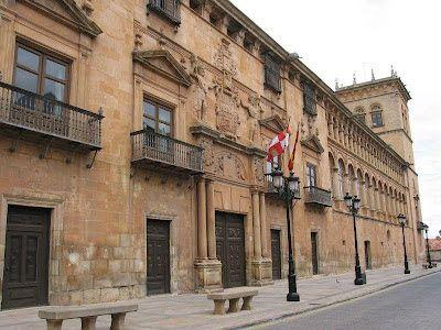 Soria - Palacio de los Condes de Gómara photo: public domain ( Numantino)  http://bobbovington.blogspot.com.es/2012/03/soria.html