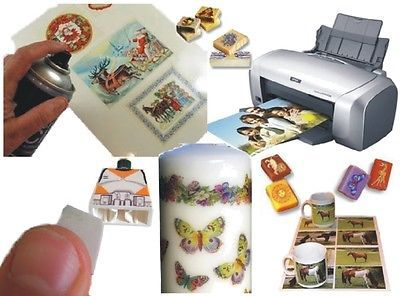 Details About Magic Coating Decal Paper Durable Transfer