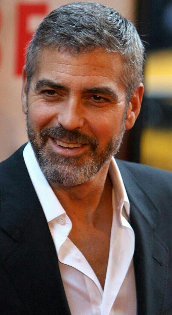 Pin By Juan Galicia On Pelo Hombre George Clooney Hair Hair And Beard Styles Mens Hairstyles Short