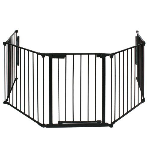 Infantastic barri re de s curit enfant 300 x 75 cm l x h grille de protection pour chemin e - Barriere de securite cheminee ...
