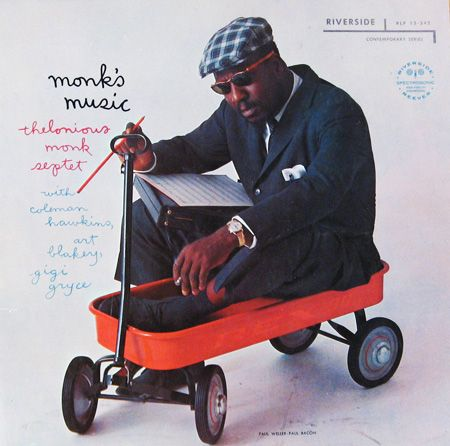 "Thelonious Monk ""Monk´s Music"", 1957  Design: Paul Bacon   Photo: Paul Weller"