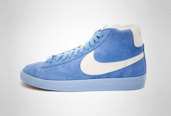 Nike Blazer Mid Vintage Suede Arctic Blue Edition. I was about to get these  to