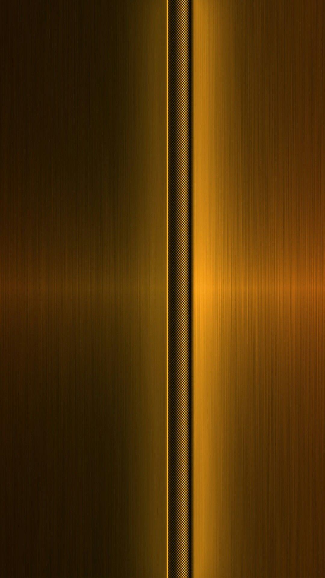 Bronze Gold Metal Wallpaper