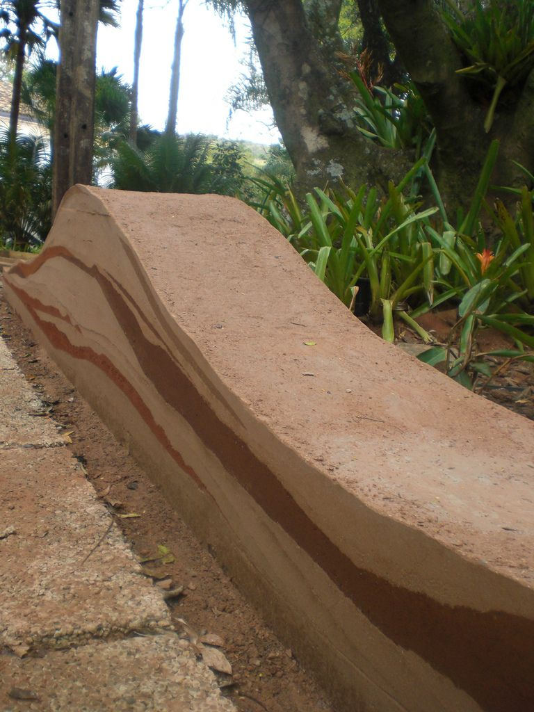 Just another dirt in the wall - Rammed Earth Wall