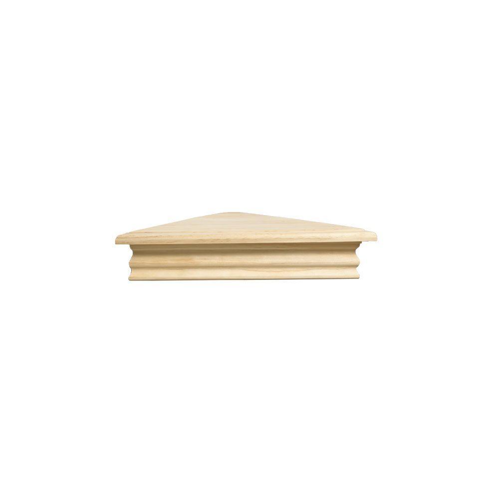 Knape Vogt 8 In X 17 In Unfinished Corner Decorative Shelf Kit