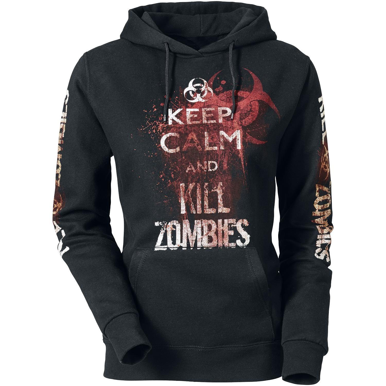 Naisten huppari - Naisten huppari - Keep Calm And Kill Zombies - Tuotenumero: 289654 - alkaen 33,99 € • EMP.fi