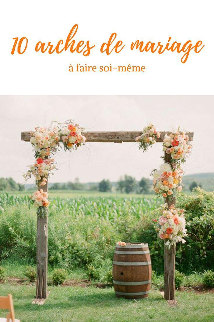 Mariage : 10 arches originales à faire soi même