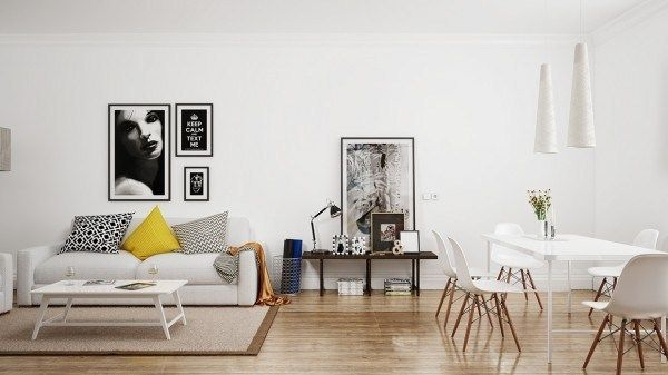 Ideas for a Nordic-style living room (3)
