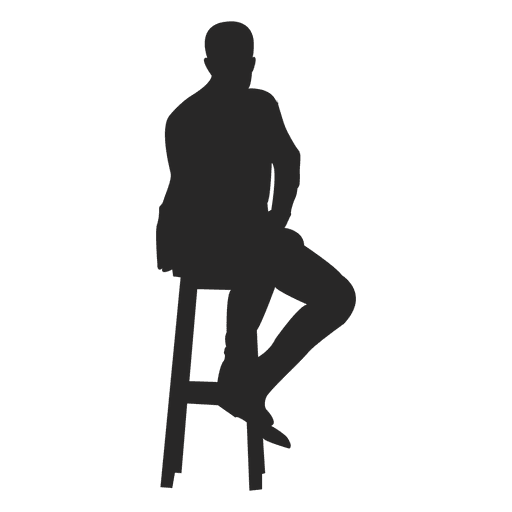 Man Sitting On Stool Ad Sponsored Affiliate Stool Sitting Man Man Sitting Cool Silhouettes Dragon Ball Wallpapers
