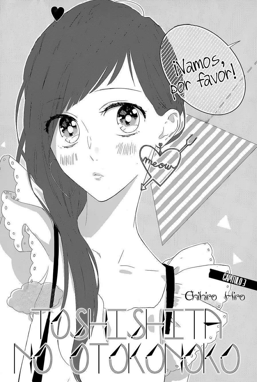 Toshishita no Otokonoko Capítulo 3 página 3 - Leer Manga en Español gratis en NineManga.com