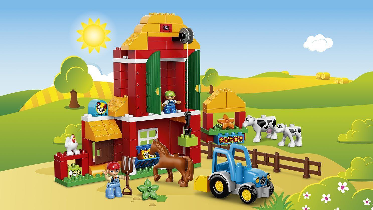 Own Duplo City, Big Farm, April 2016