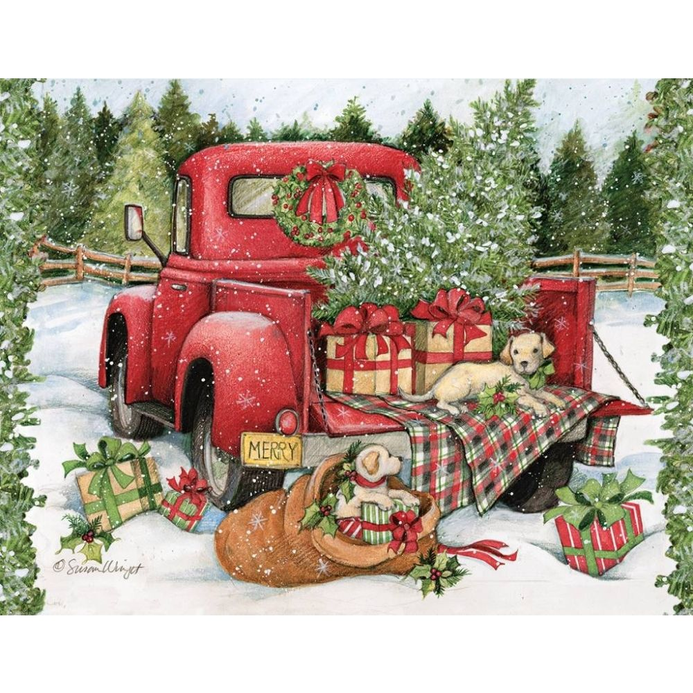Christmas Journey Assorted 5.375 In X 6.875 In Boxed