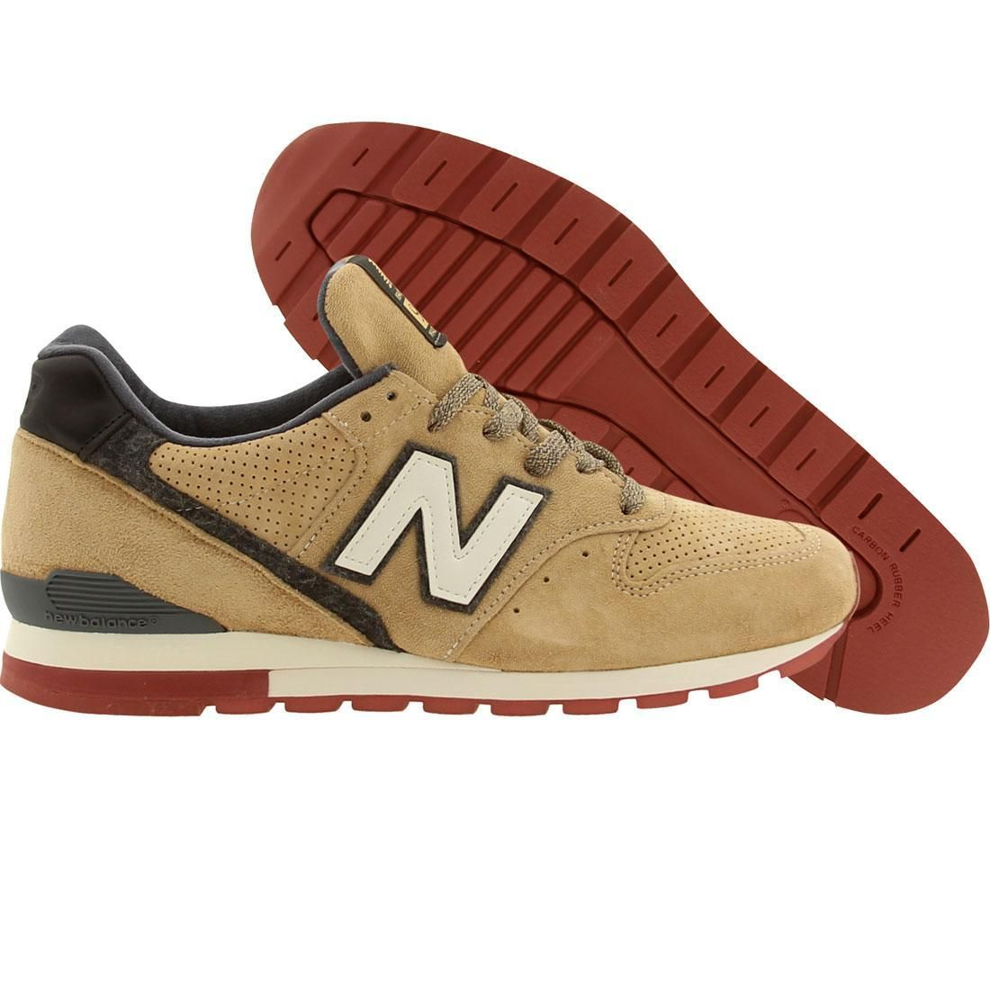 New Balance Men M996PR Distinct Authors - Made In USA (brown / gray) Shoes M996PR | PickYourShoes.com
