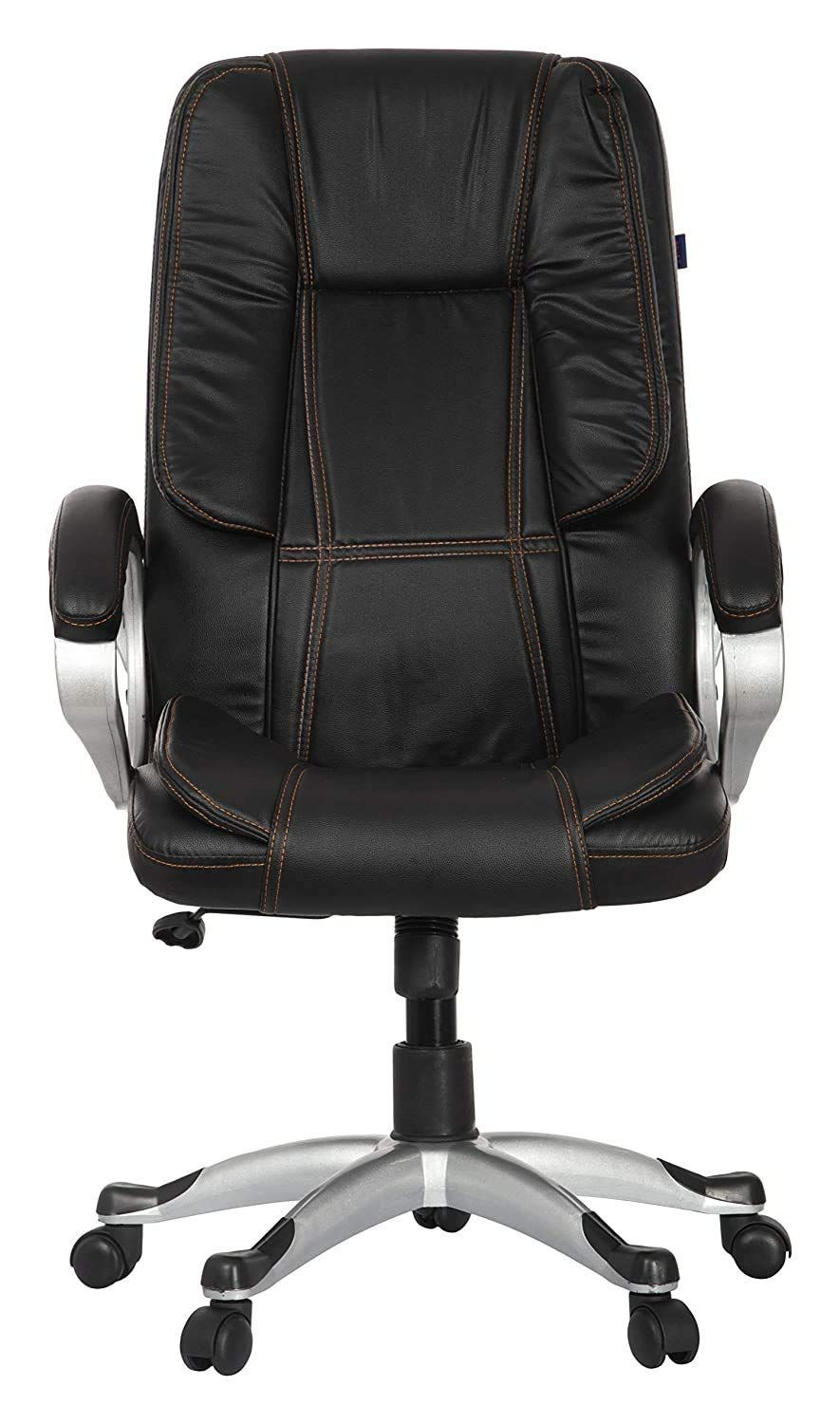 Townsville Moscow Leatherette High Back Office Chair Black Office Chair Chair Leatherette