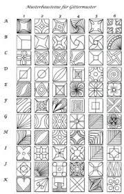 Simple Zentangle Patterns For Beginners