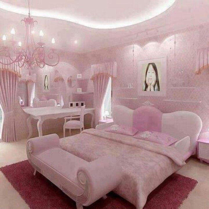 Pink Bedrooms, Woman Bedroom, Luxurious