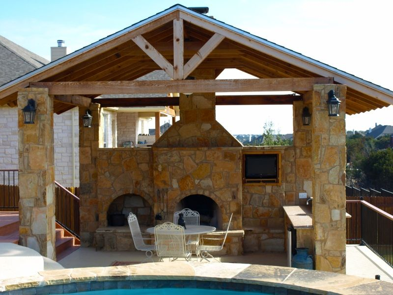 Austin Outdoor Living Photos Outdoor Kitchens Fireplaces San Antonio Outdoor Fireplace Patio Cover Pool Outdoor Living Pool Builders