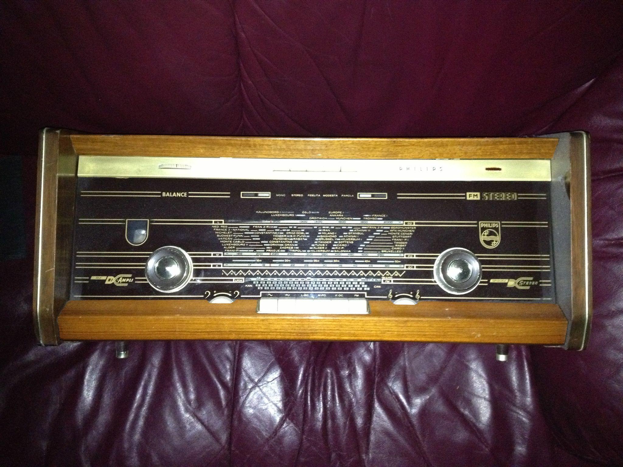Philips Type B6X43A (Serialno: PL 10308) Bi-Ampli FM-Stereo ...
