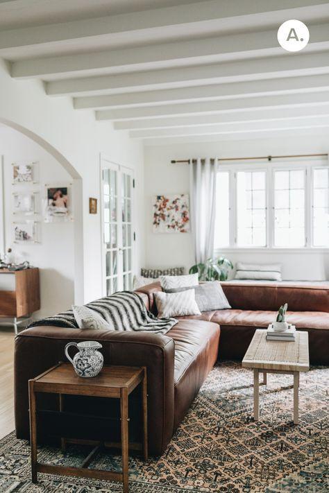 Mello Taos Brown Left Arm Sofa | Modular design, Arms and Room