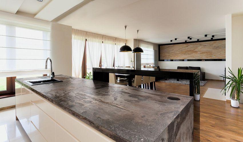 Trillium Luxury Dekton Modern Kitchen Kitchen Worktop