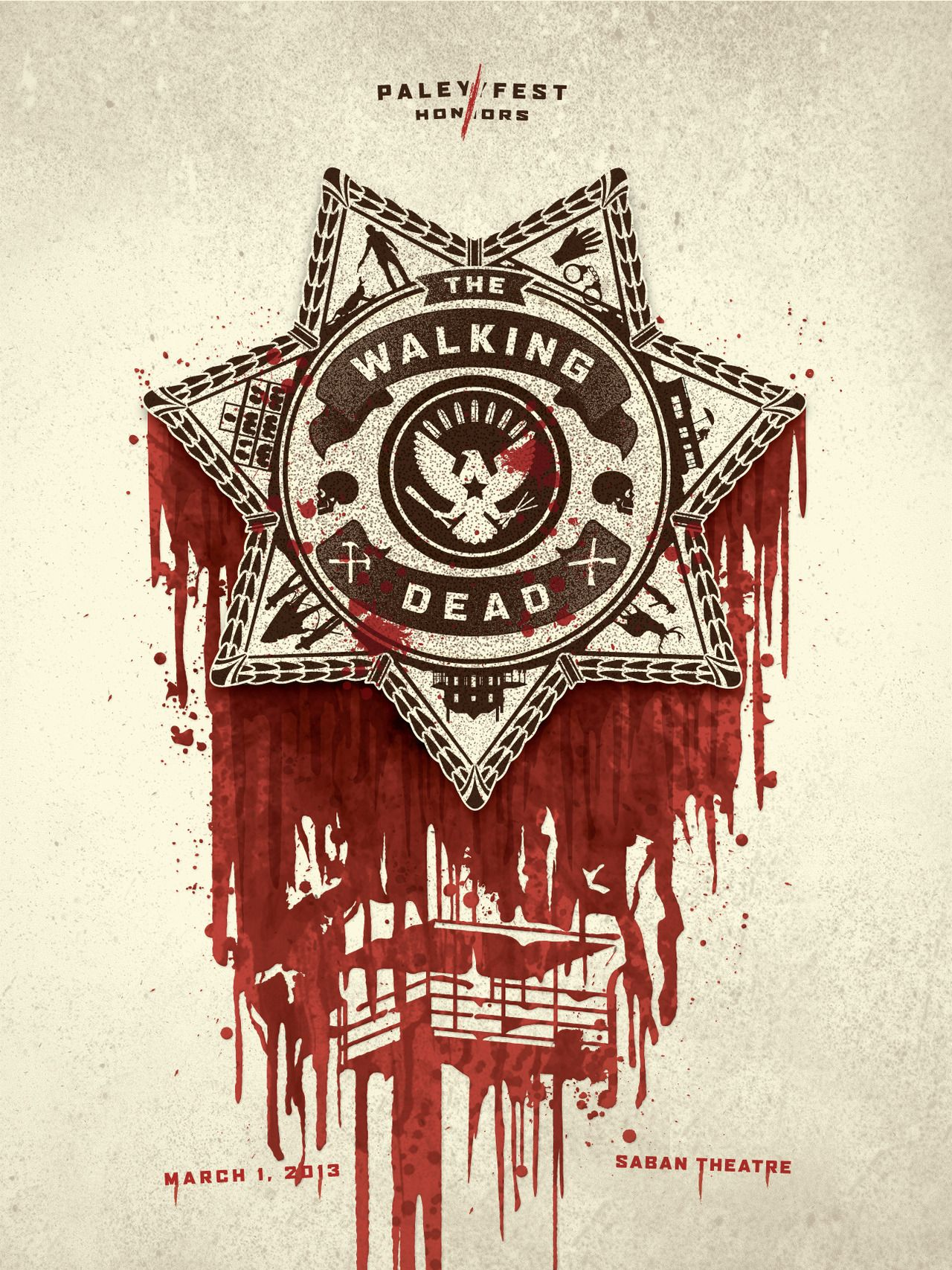 Cool Walking dead artwork