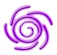 This is the symbol for telepathy, made 3-dimensional and ...
