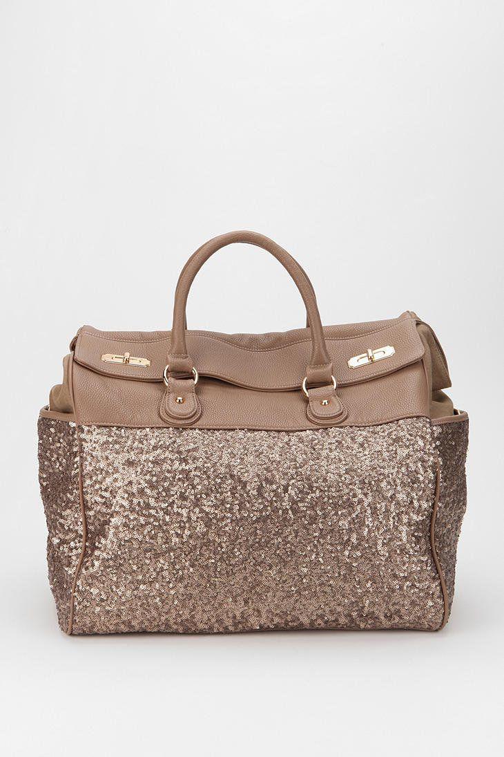 Deux Lux Sequin Weekender Bag in 2018   My Swag Bags   Pinterest ... 5096f7aec3