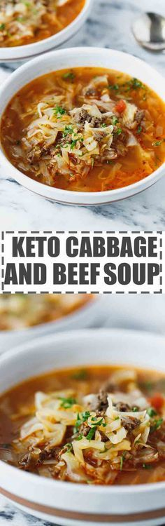 Keto Cabbage Soup Re
