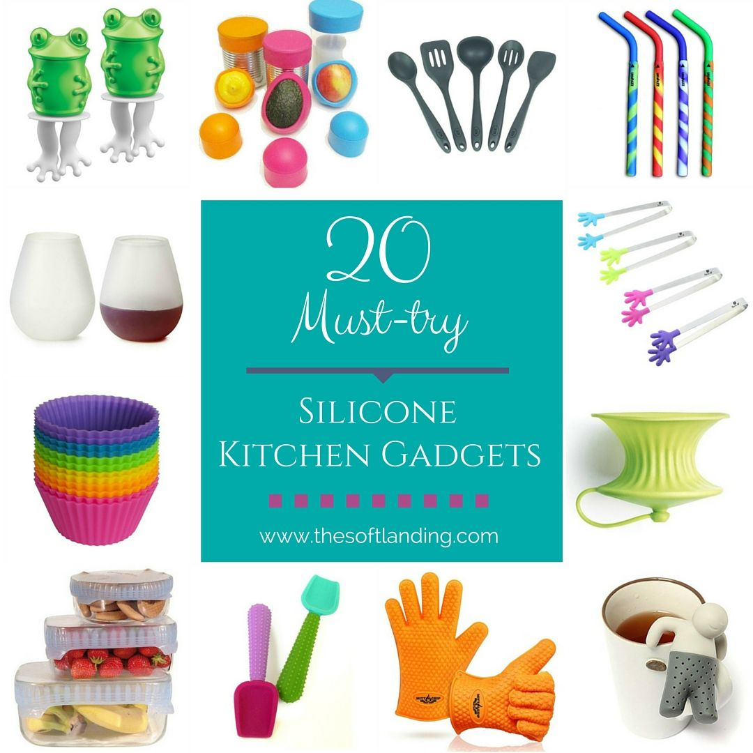 20 Unique Silicone Kitchen Gadgets You Need to Try | Kitchen gadgets ...