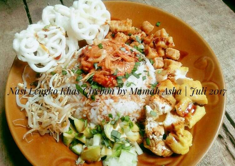 Resep Nasi Lengko Khas Cirebon Oleh Mamah Asha Resep Makanan Kacang Jamur