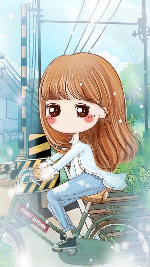 Art Cute Baby And Illustration Image đang Yeu Minh Họa Manga