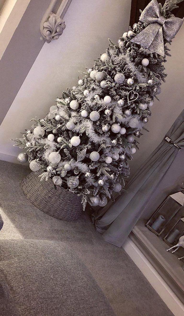 Ideas únicas del árbol de navidad de DIY para esta