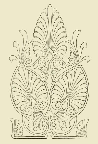 Greek Anthemions Reusableart Com 3d Doodle Art Aesthetic Patterns 3d Doodle