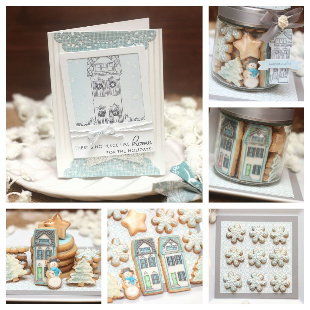 Montreal Confections: Christmas Cookie Greetings - Video Tutorial ...