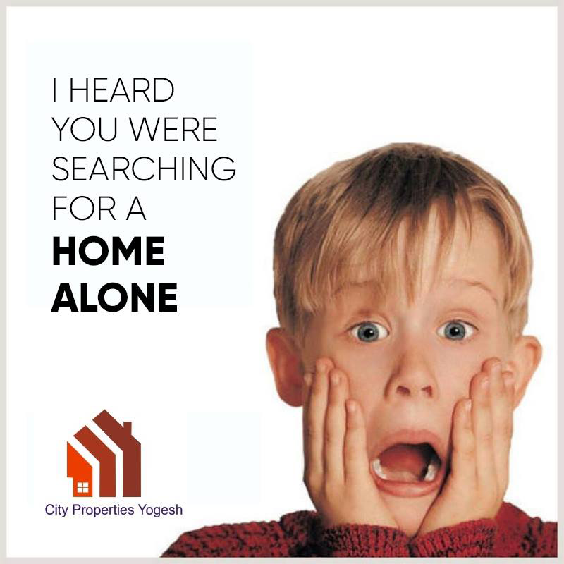 I Heard You Were Searching For A #Home Alone House For