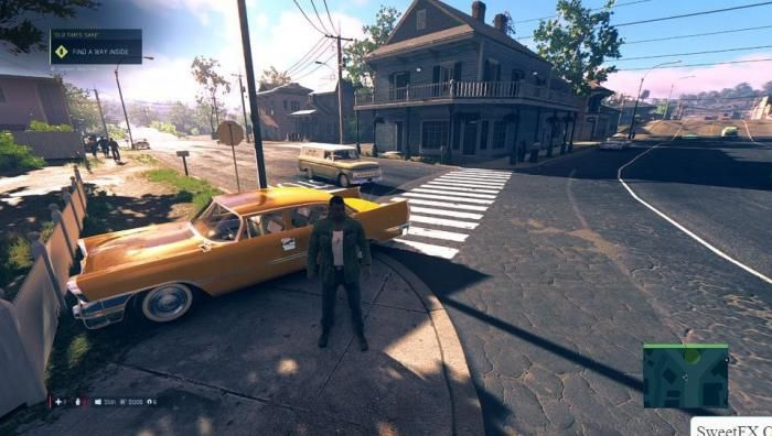 Mafia 3 graphic mod Sweetfx Colour Correction Or Blur Removal to