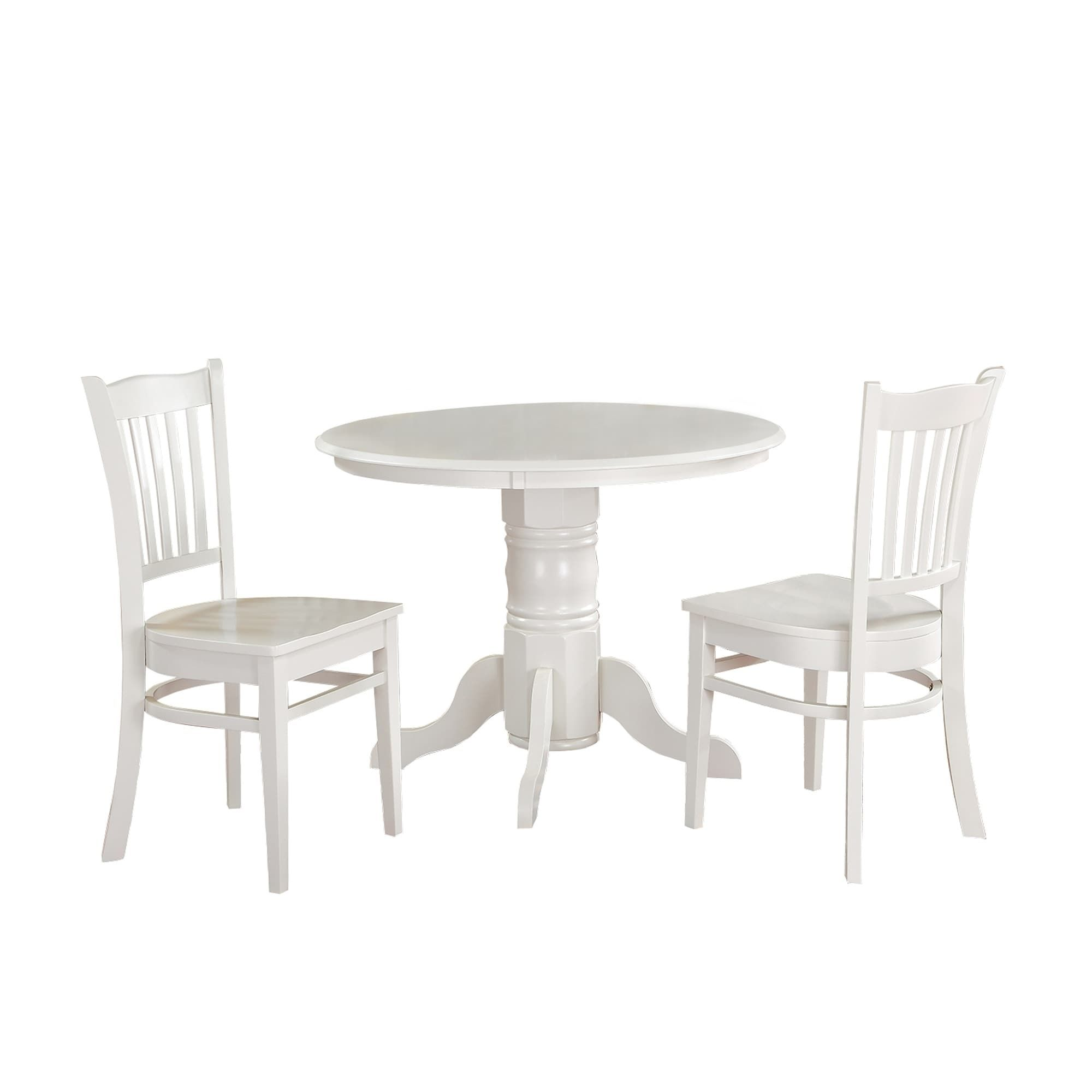Ttp furnish piece solid wood dining set